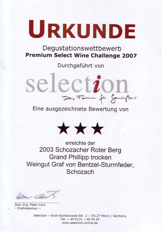 2003 Schozacher Roter Berg Grand Phillipp