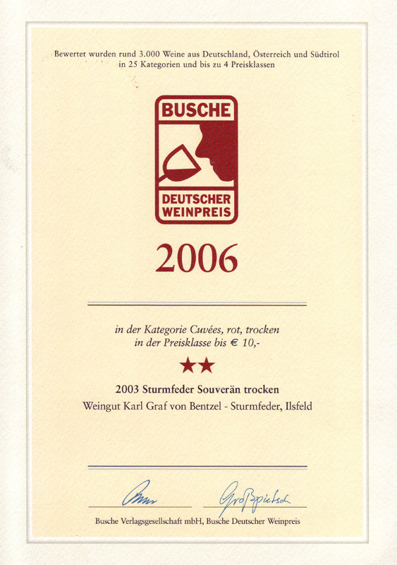 2003 Sturmfeder Souverän