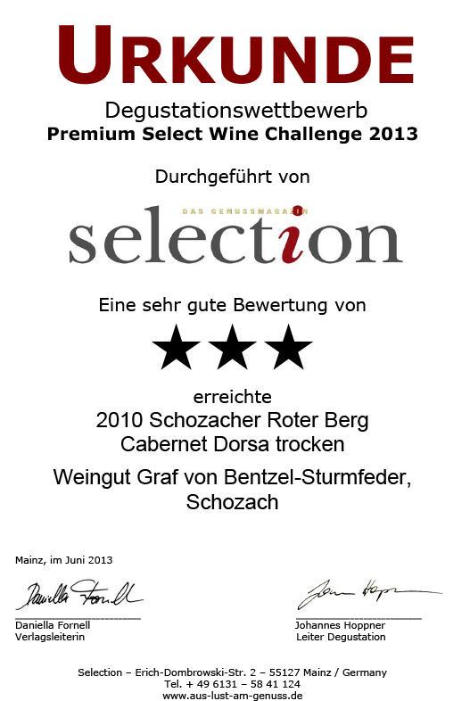 2010 Schozacher Roter Berg Cabernet Dorsa