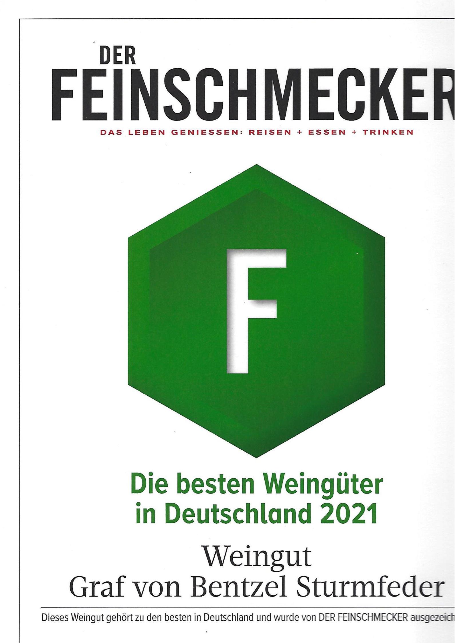 Die besten Weingüter in Deutschland 2021