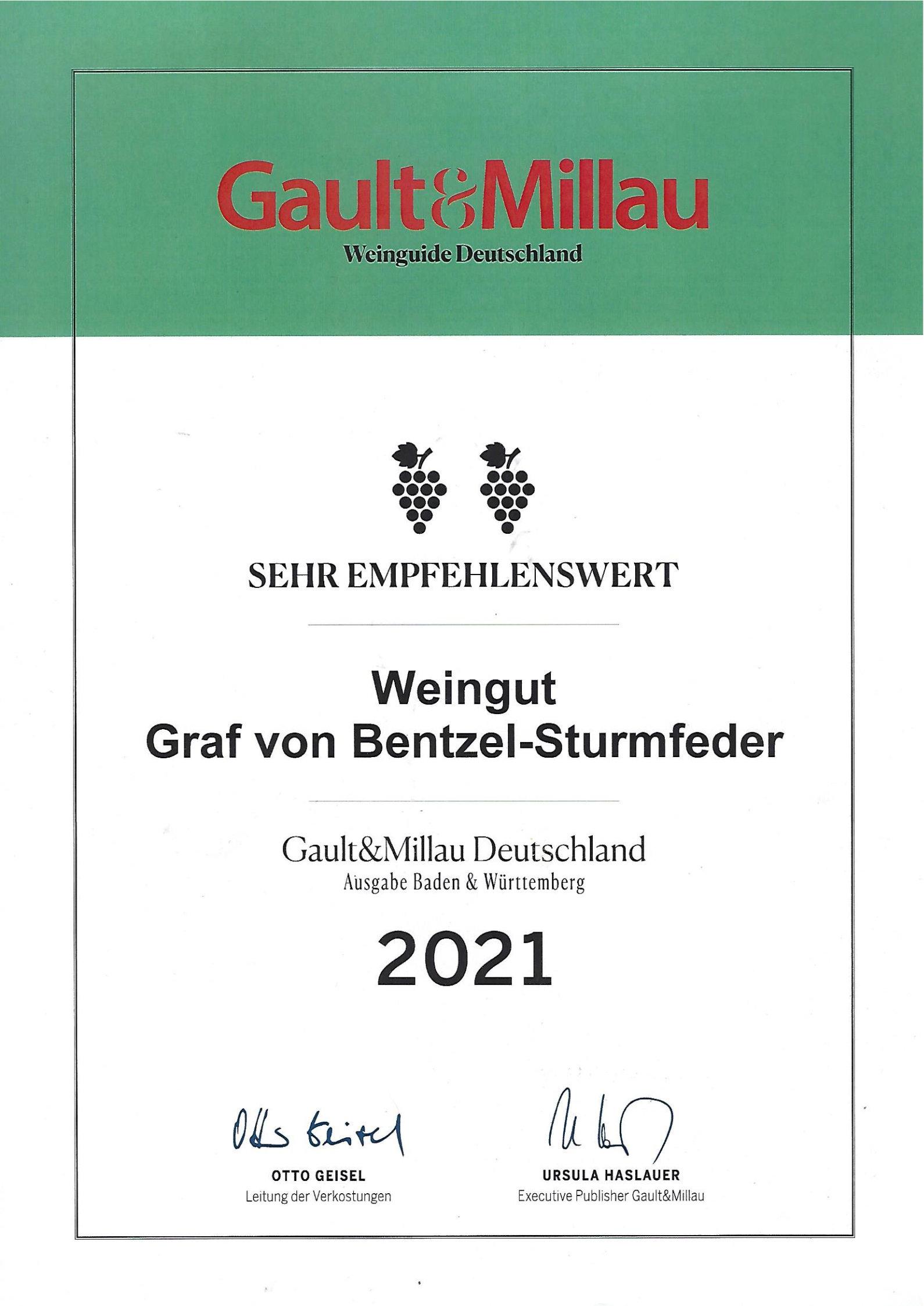 Gault&Millau Weinguide Deutschland 2021
